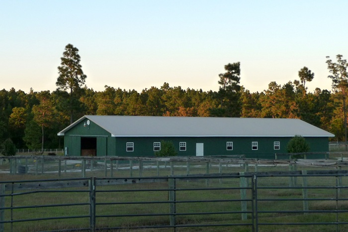 12 stall boarding and dressage training barn in Aberdeen NC