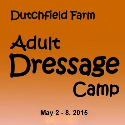 Dutchfield Farm Adult Dressage Camp 2015