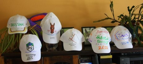 Cap Contest @ Dutchfield Farm Adult Dressage Camp 2011