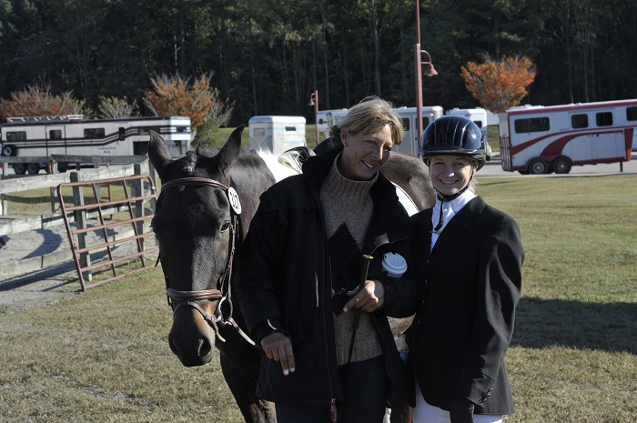 Konnor Edwards with Bellissima at Williamston 2012